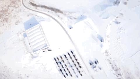 2019mission3航拍视频~雪域赛道驰骋!