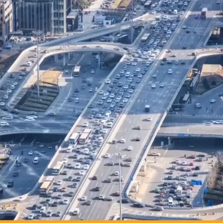 全世界最大的三次堵车
