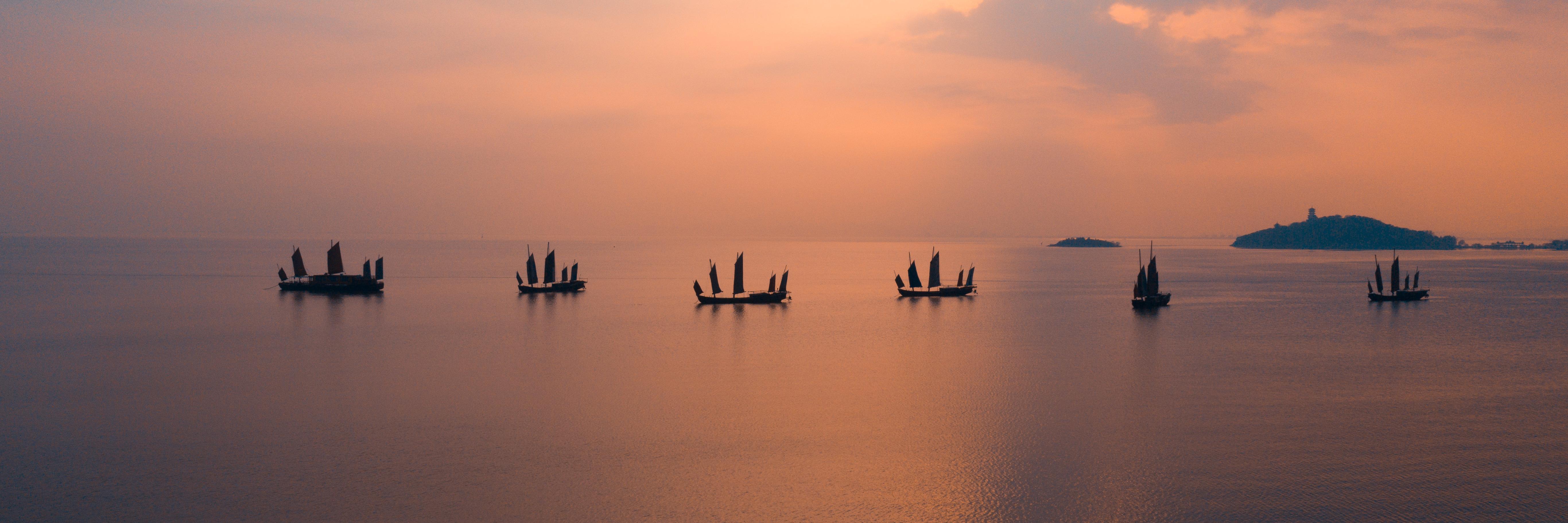 自驾冬游太湖:枯山水配朦胧诗,遇见2021第一波花潮