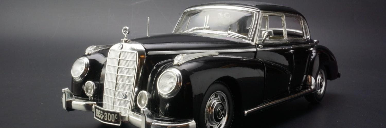 1955阿登纳梅赛德斯奔驰300C豪华轿车