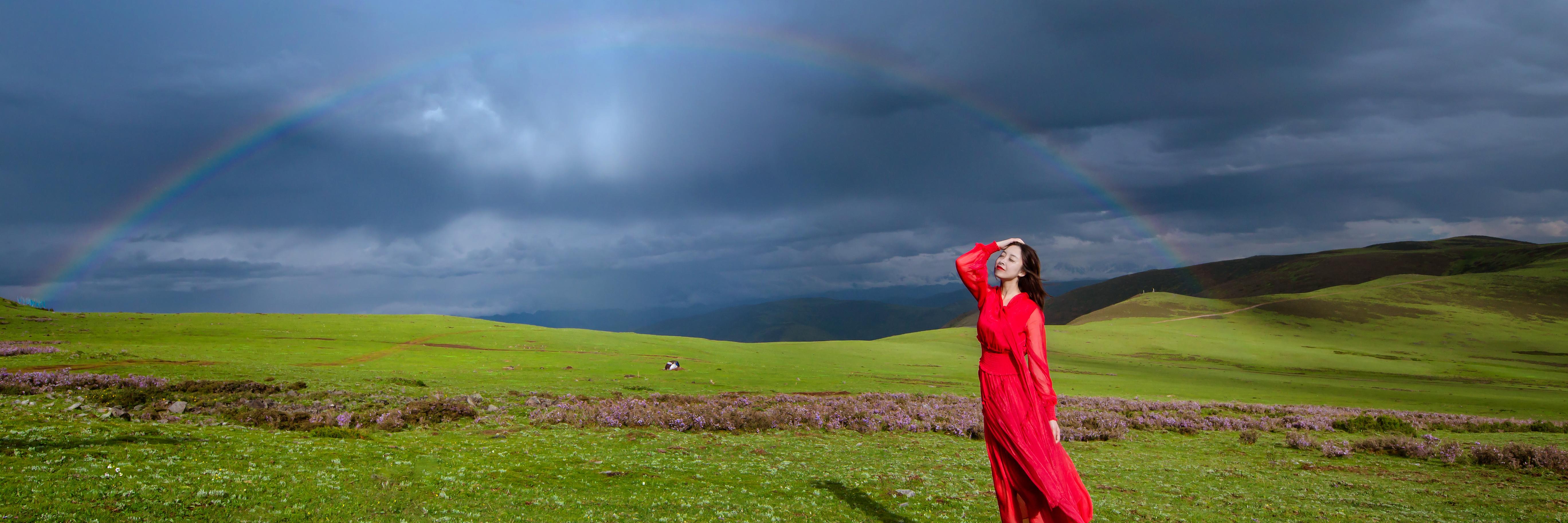 【带着大嫂去旅行第八集】同大嫂甘孜游,经历风雨邂逅彩虹。