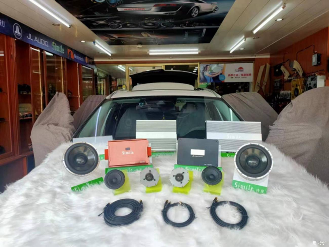 惠东--沃尔沃xc90汽车音响改装
