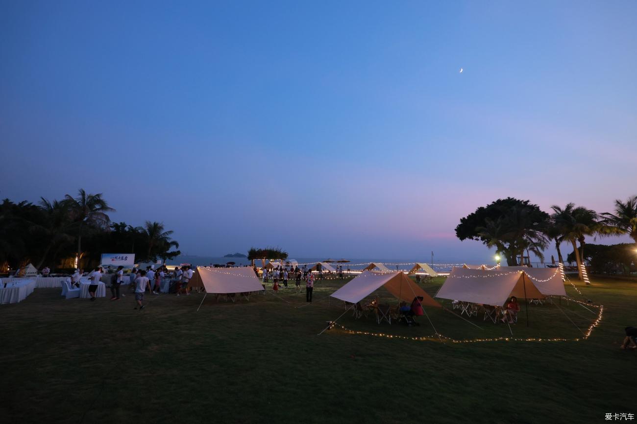 面朝大海,夏风夕夕,与比亚迪一起去露营