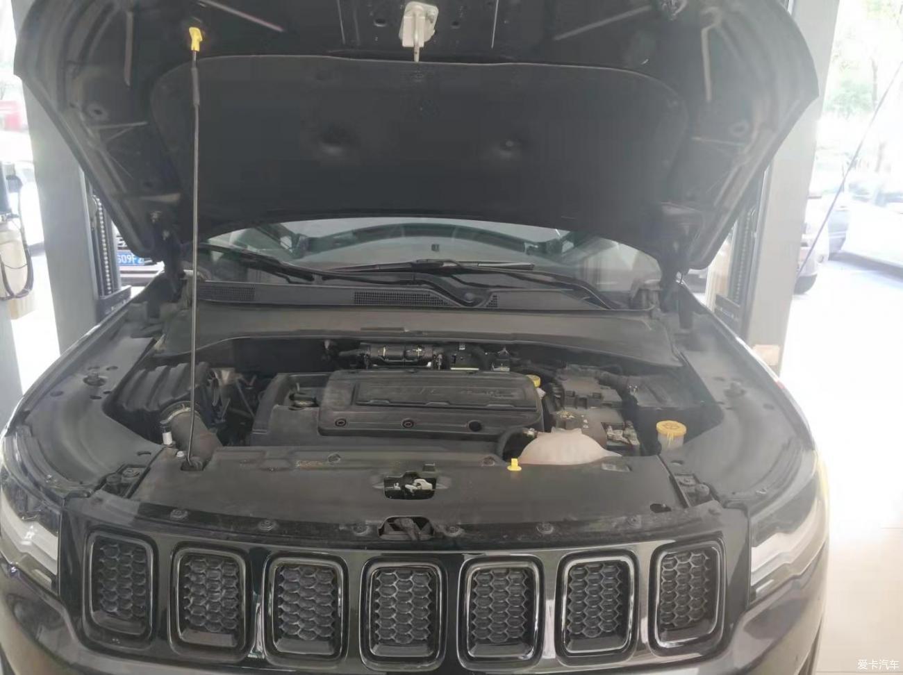 我的小Jeep大保养
