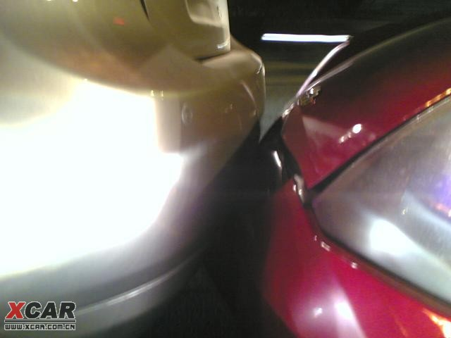 第一次被追尾 深圳汽车论坛 XCAR 爱卡汽车俱乐部 -标题 第一次被追尾高清图片