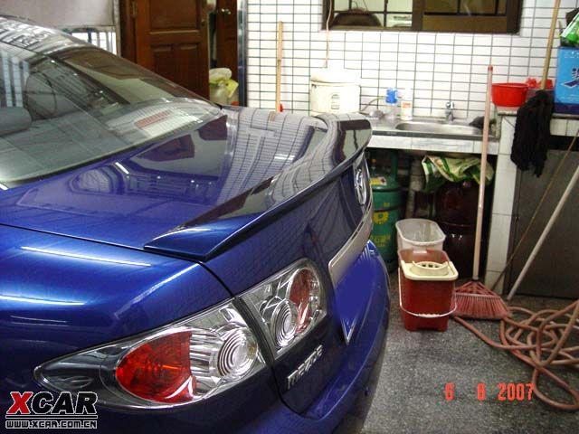 马自达6 5hb轿跑尾翼 马自达6论坛 xcar 爱卡汽车俱乐部高清图片