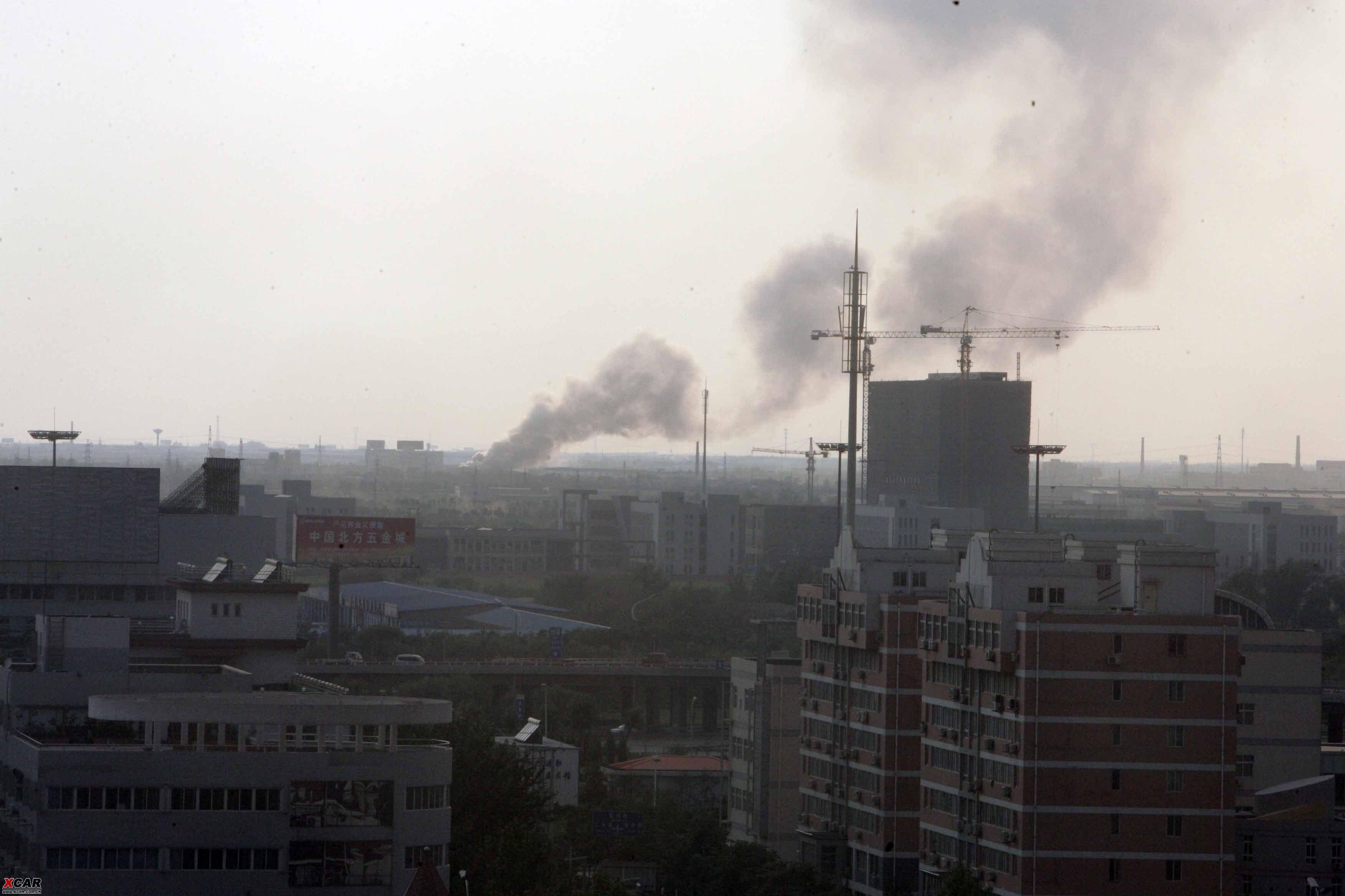 西青区着火了 天津汽车论坛 xcar 爱卡汽车俱乐部高清图片