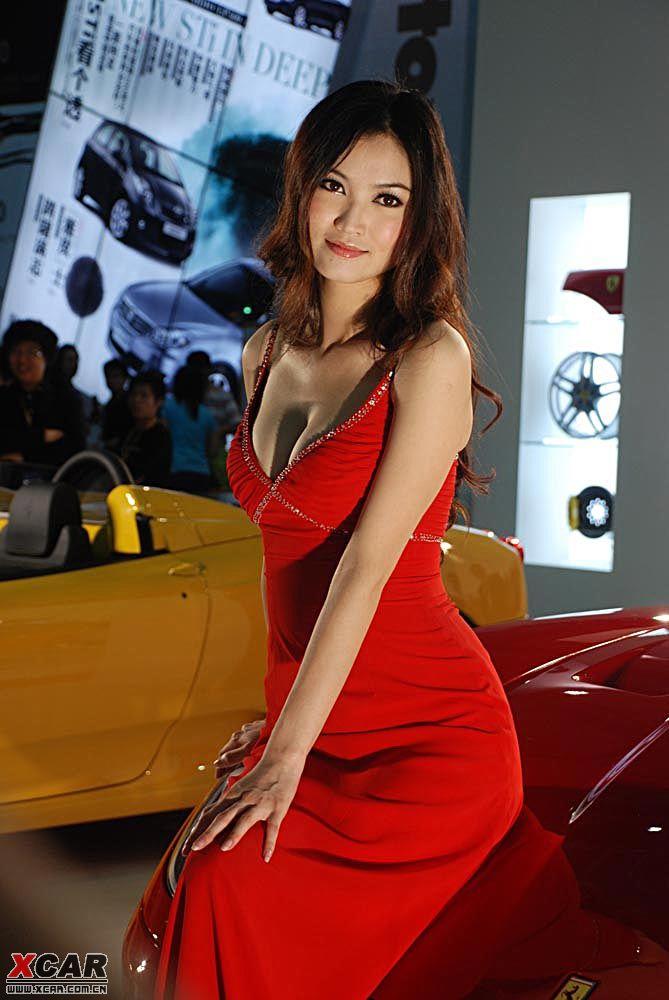 深圳车展再现08cts和美女