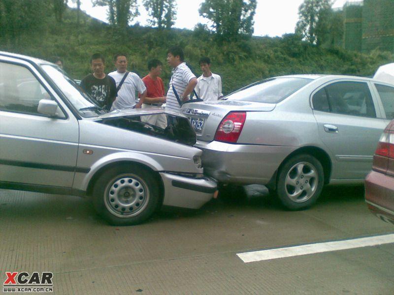 环上的离奇连环追尾事故 深圳汽车论坛 XCAR 爱卡汽车俱乐部 -标题 高清图片