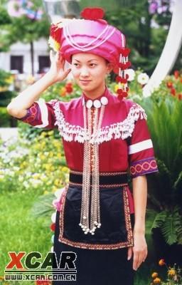 中国56个民族服装大展示