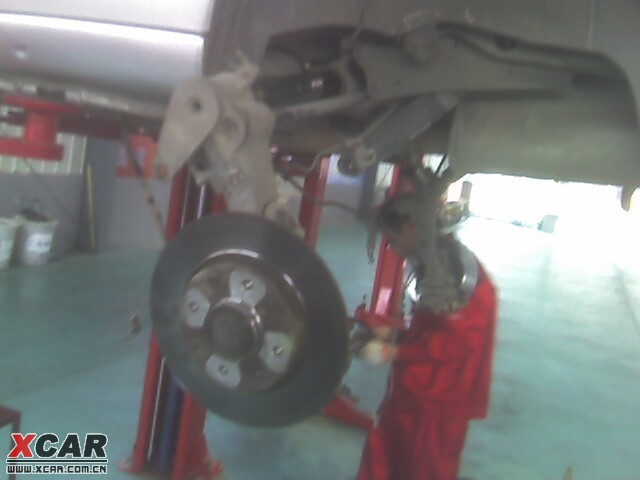 后桥保养 换后轮轴承 赛纳论坛 XCAR 爱卡汽车俱乐部高清图片
